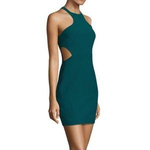 Cinq a Sept Green Juno Cutout Dress Size 6